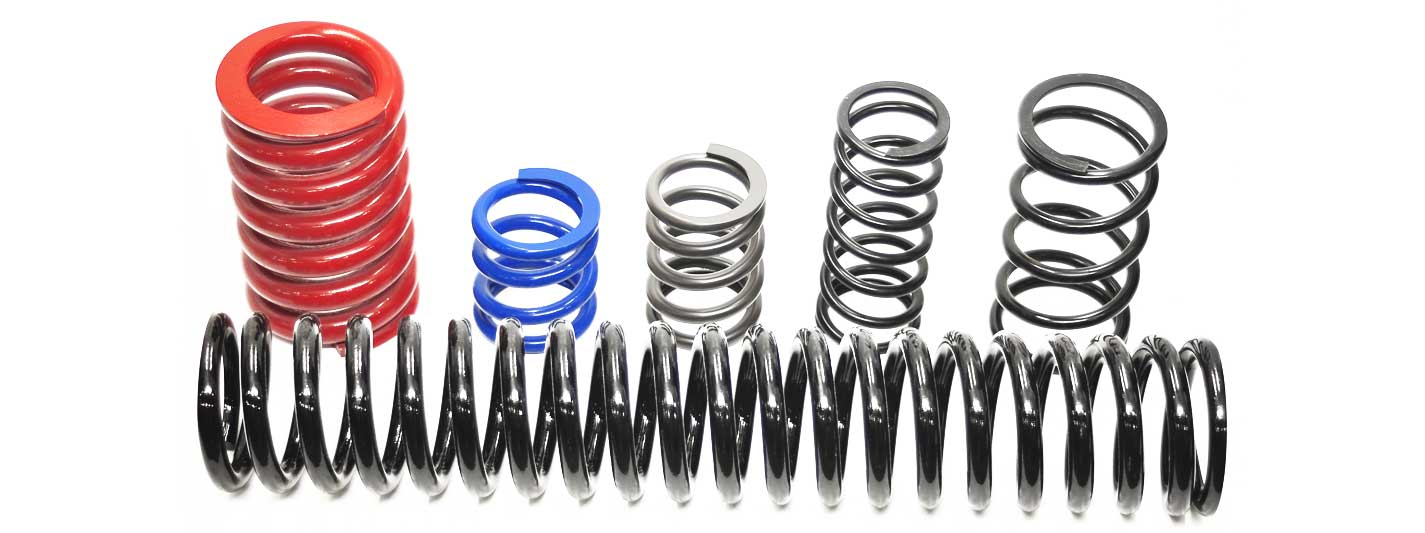 colourful coil springs