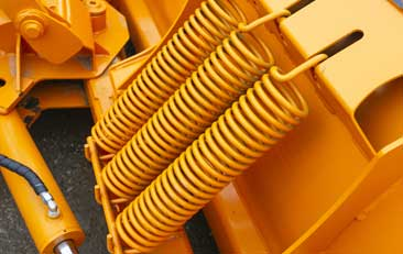 snow plow coil springs